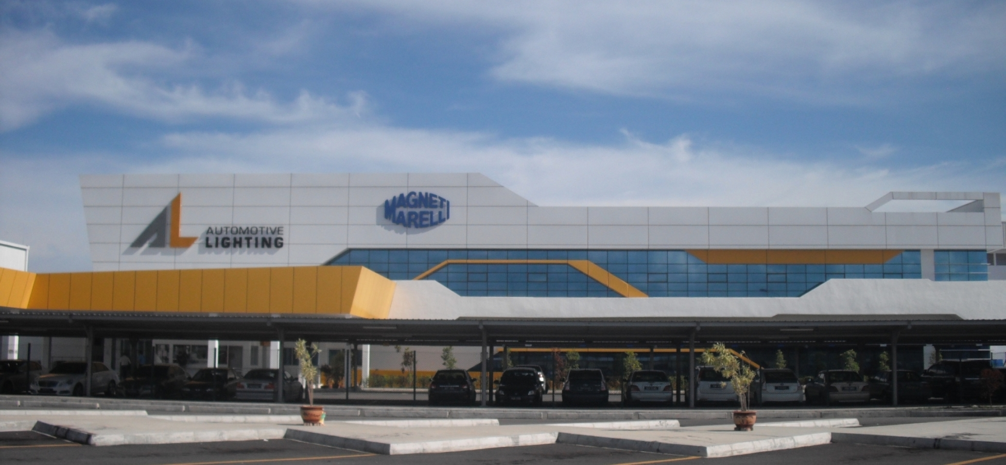 magneti marelli inaugurates a new automotive lighting plant in the